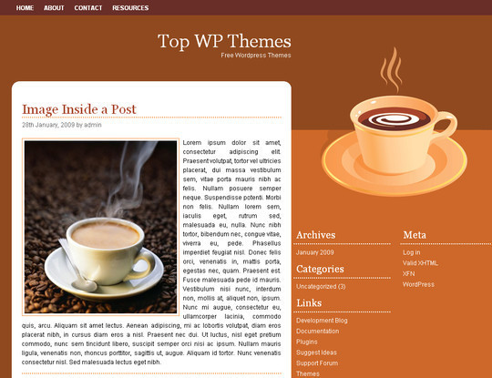 Ultimate Collection Of Free Wordpress Themes For Food And Recipe Blogs 27