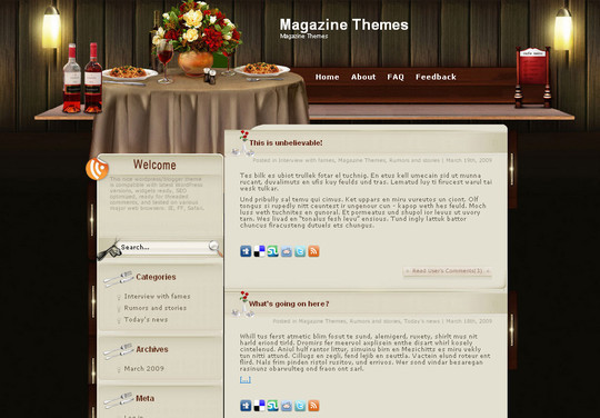 Ultimate Collection Of Free Wordpress Themes For Food And Recipe Blogs 5