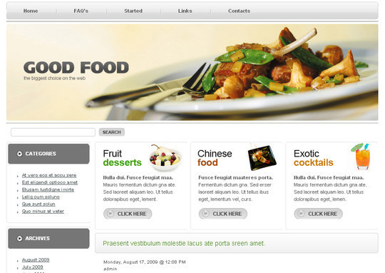 Ultimate Collection Of Free Wordpress Themes For Food And Recipe Blogs 29