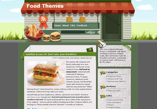 Ultimate Collection Of Free Wordpress Themes For Food And Recipe Blogs 30
