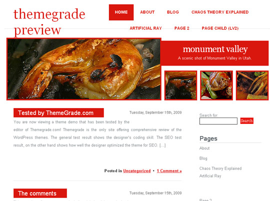 Ultimate Collection Of Free Wordpress Themes For Food And Recipe Blogs 31