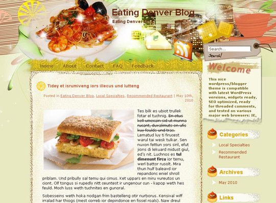 Ultimate Collection Of Free Wordpress Themes For Food And Recipe Blogs 34
