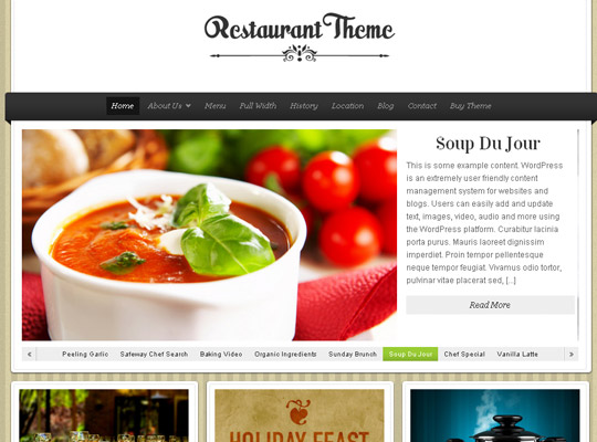 Ultimate Collection Of Free Wordpress Themes For Food And Recipe Blogs 35