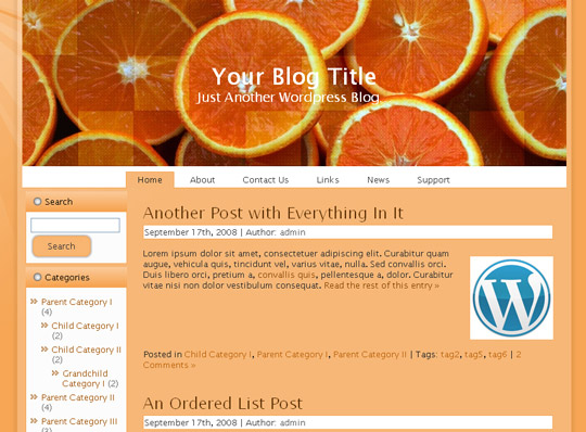 Ultimate Collection Of Free Wordpress Themes For Food And Recipe Blogs 36