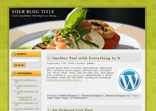 Ultimate Collection Of Free Wordpress Themes For Food And Recipe Blogs 37