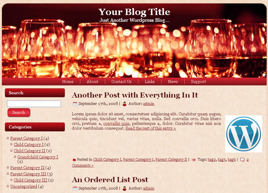 Ultimate Collection Of Free Wordpress Themes For Food And Recipe Blogs 39