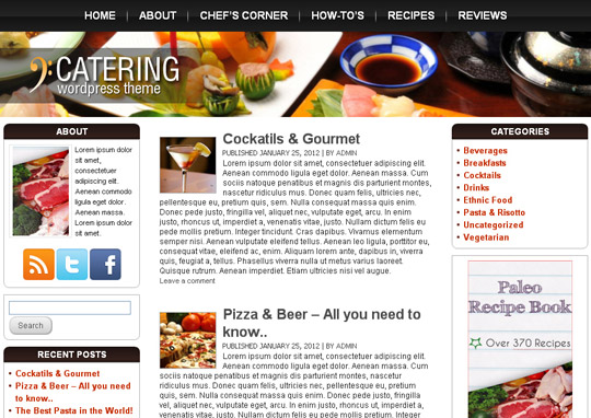 Ultimate Collection Of Free Wordpress Themes For Food And Recipe Blogs 40