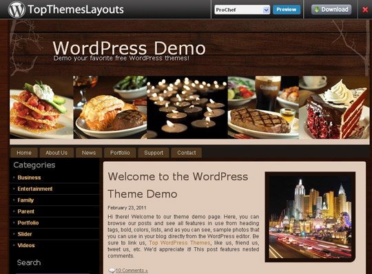 Ultimate Collection Of Free Wordpress Themes For Food And Recipe Blogs 41