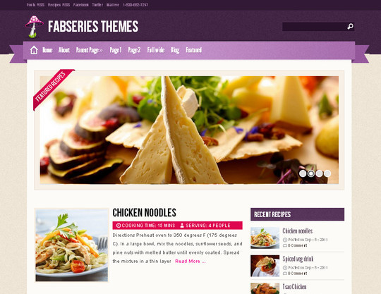 Ultimate Collection Of Free Wordpress Themes For Food And Recipe Blogs 7