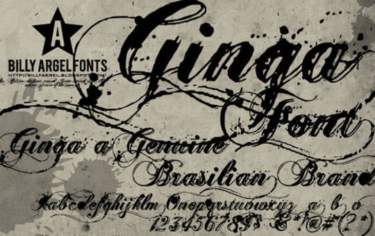 20 Creative Grunge Fonts To Download 2