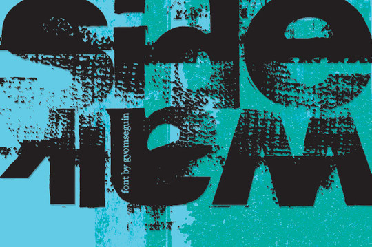 20 Creative Grunge Fonts To Download 16