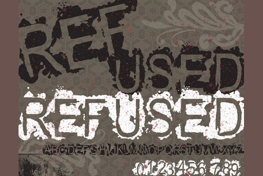 20 Creative Grunge Fonts To Download 20