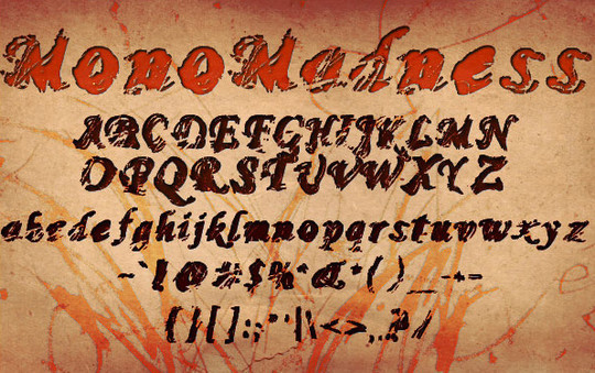 20 Creative Grunge Fonts To Download 21