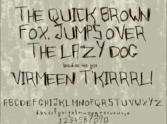 20 Creative Grunge Fonts To Download 7