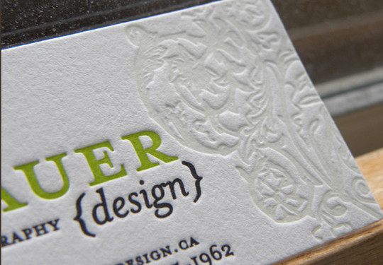 40+ Beautiful And Creative Letterpress Designs 26