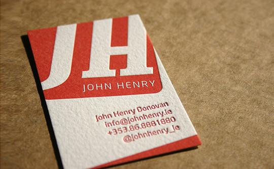40+ Beautiful And Creative Letterpress Designs 27