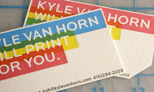40+ Beautiful And Creative Letterpress Designs 33