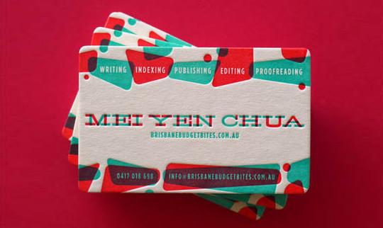 40+ Beautiful And Creative Letterpress Designs 37