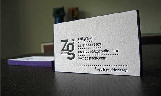 40+ Beautiful And Creative Letterpress Designs 38
