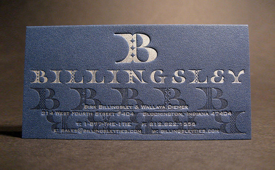 40+ Beautiful And Creative Letterpress Designs 2
