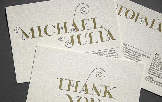 40+ Beautiful And Creative Letterpress Designs 45