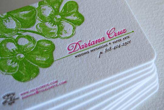 40+ Beautiful And Creative Letterpress Designs 13