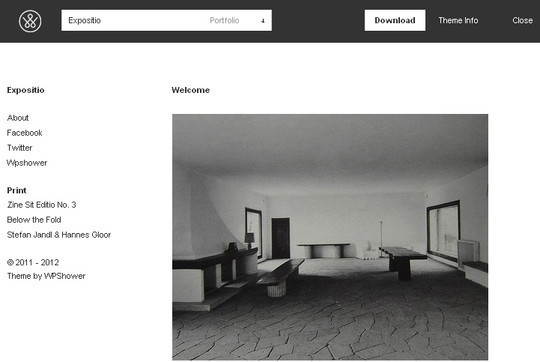 Less Is More: 40 Free, Minimal And Clean Wordpress Themes 13