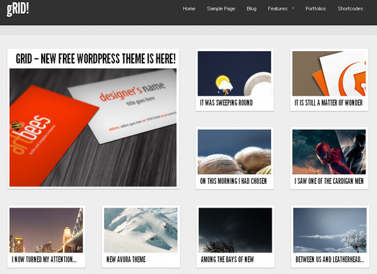 Less Is More: 40 Free, Minimal And Clean Wordpress Themes 15