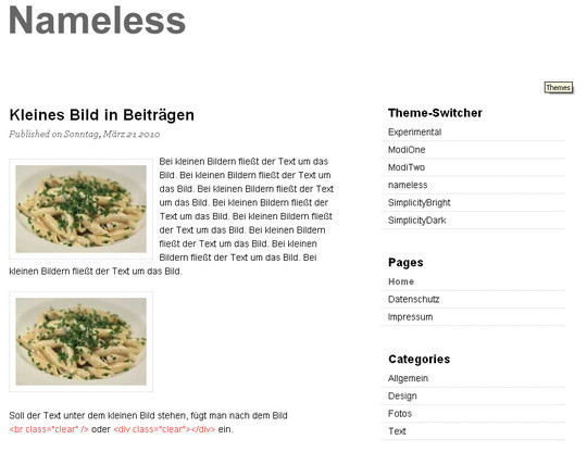 Less Is More: 40 Free, Minimal And Clean Wordpress Themes 28
