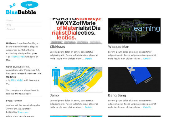 Less Is More: 40 Free, Minimal And Clean Wordpress Themes 31
