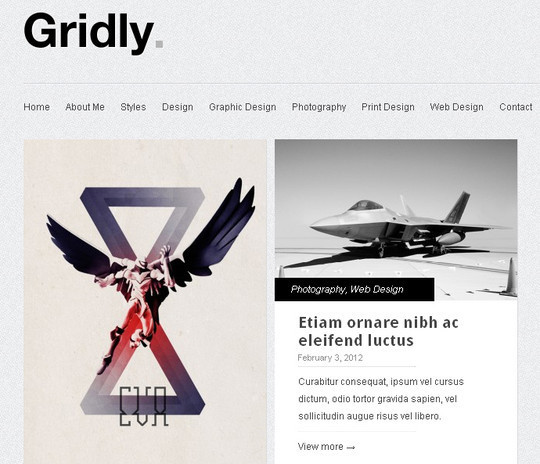 Less Is More: 40 Free, Minimal And Clean Wordpress Themes 39