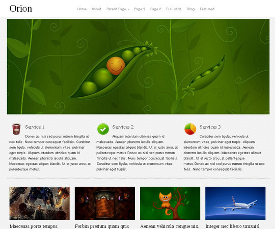 Less Is More: 40 Free, Minimal And Clean Wordpress Themes 40
