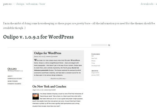 Less Is More: 40 Free, Minimal And Clean Wordpress Themes 41