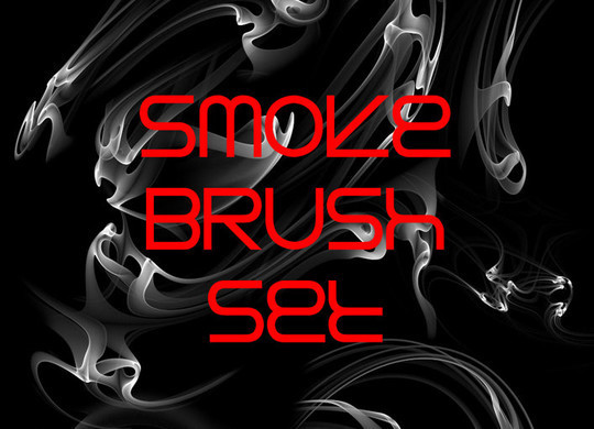 15 Free Abstract Smoke Brushes 4