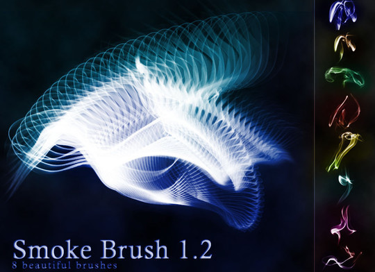 15 Free Abstract Smoke Brushes 7
