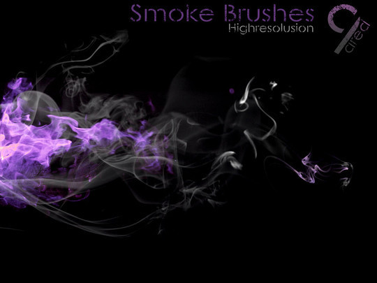 15 Free Abstract Smoke Brushes 9