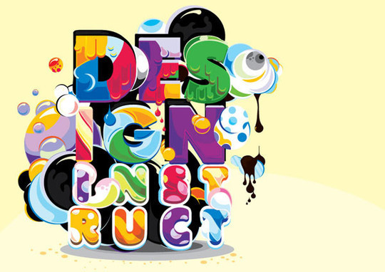 50 Photoshop And Illustrator Tutorials For Creating Text Effect 32