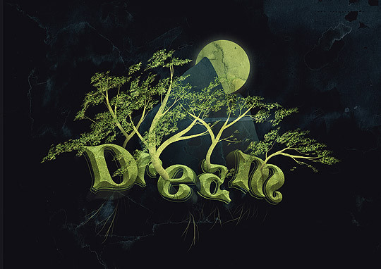 50 Photoshop And Illustrator Tutorials For Creating Text Effect 43