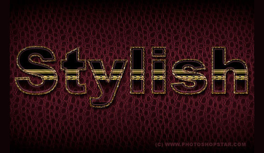 50 Photoshop And Illustrator Tutorials For Creating Text Effect 48