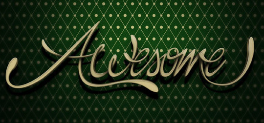 50 Photoshop And Illustrator Tutorials For Creating Text Effect 14