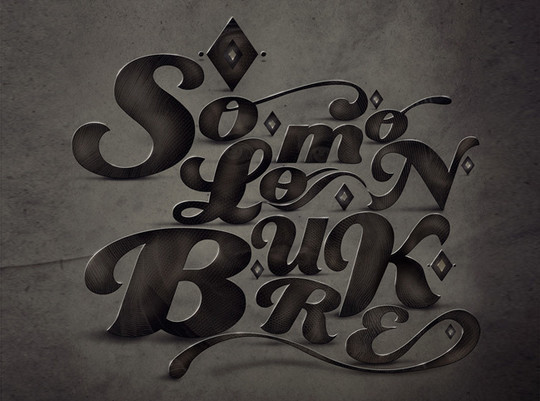 50 Photoshop And Illustrator Tutorials For Creating Text Effect 3