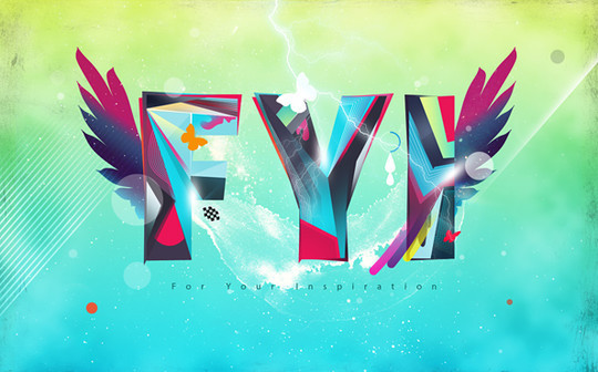 50 Photoshop And Illustrator Tutorials For Creating Text Effect 1