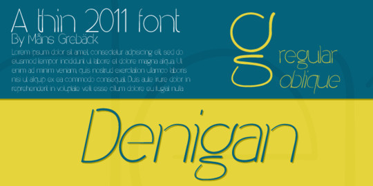 Massive Collection Of Free Thin Fonts To Download 3