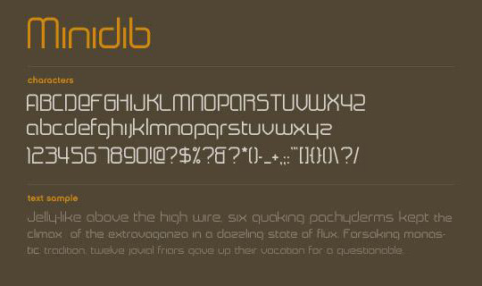 Massive Collection Of Free Thin Fonts To Download 25