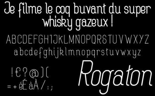 Massive Collection Of Free Thin Fonts To Download 27