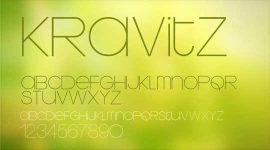 Massive Collection Of Free Thin Fonts To Download 2