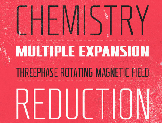 Massive Collection Of Free Thin Fonts To Download 38