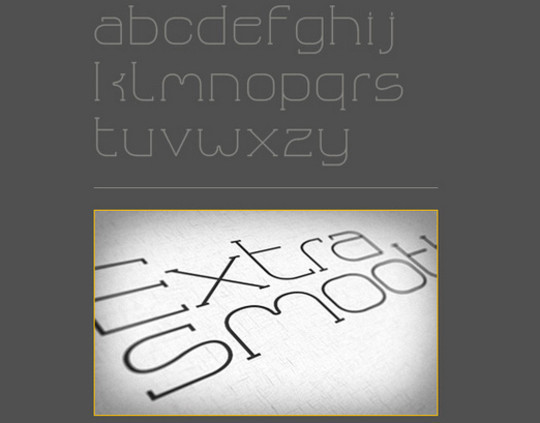 Massive Collection Of Free Thin Fonts To Download 16