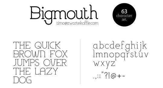 Massive Collection Of Free Thin Fonts To Download 18