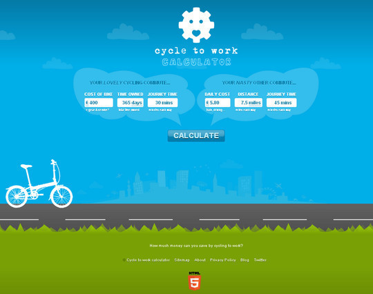 45 Examples Of Websites Designed With HTML5 15